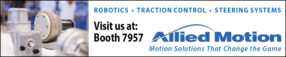 Allied Motion - Visit us at Booth 7957