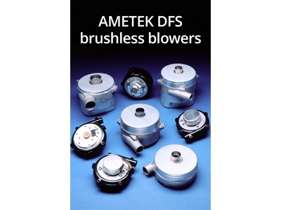 At the Automate Show in Chicago AMETEK presents brushless blowers with programmable smart controllers and brushless technology to last as long as your system.