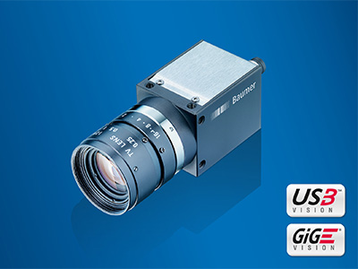 CX series by Baumer with 12 megapixel global shutter Sony CMOS sensor in compact 29 × 29 mm housing.