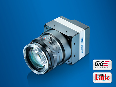 Baumer LX cameras offer resolutions up to 25 megapixel as well as 3D cameras for laser triangulation.