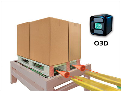 Automated fork pocket detection for AGV with ifm O3D Smart Sensor