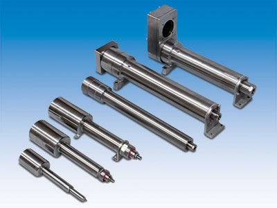 ERD hygienic stainless-steel electric actuators for clean-in-place wash down.