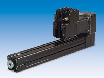 RSA electric actuators and ACSI integrated servo motor/drive/controller for compact, efficient motion control.