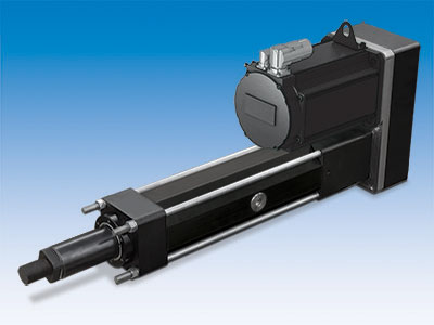 RSX electric actuators for extreme force up to 222.5 kN (50,000 lbf) replace hydraulic cylinders.