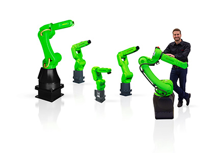 Cobots: FANUC has the widest range of Cobots for manufacturing
