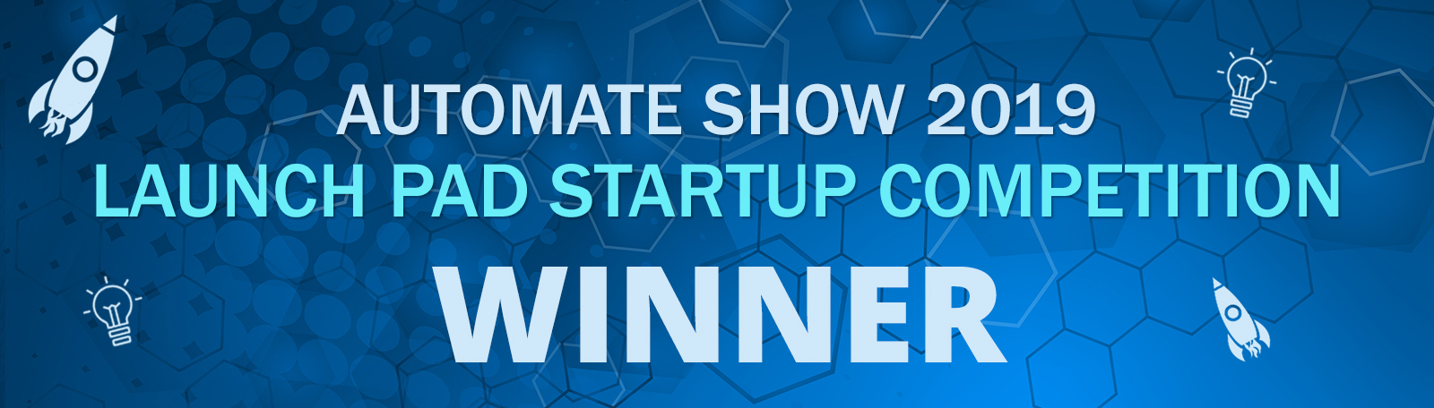 Automate Show Launch Pad Startup Competition Winners