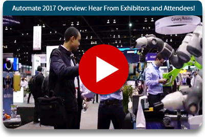 Watch the Automate Show 2017 Highlights