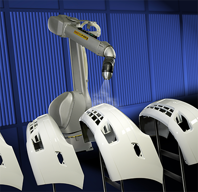 FANUC America marks the 35th anniversary of manufacturing its line of painting robots.