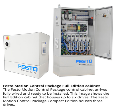 Festo Motion Control Package Full Edition cabinet