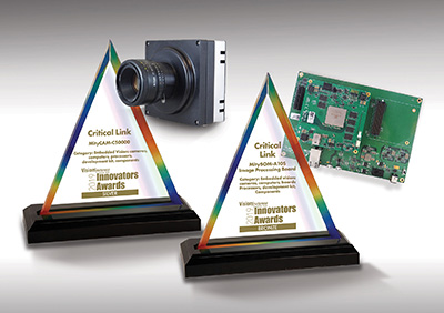 Silver & Bronze Level Innovators Awards from Vision Systems Design (VSD)